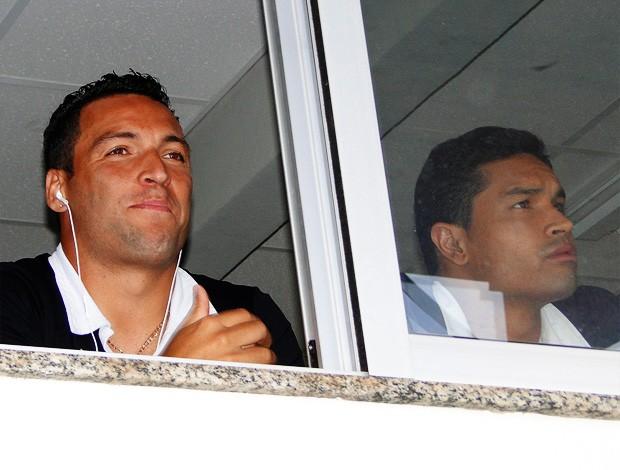 Daniel Carvalho  Dudu Cearense  atlético-mg x cruzeiro (Foto: Marco Antônio Astoni/Globoesporte.com)