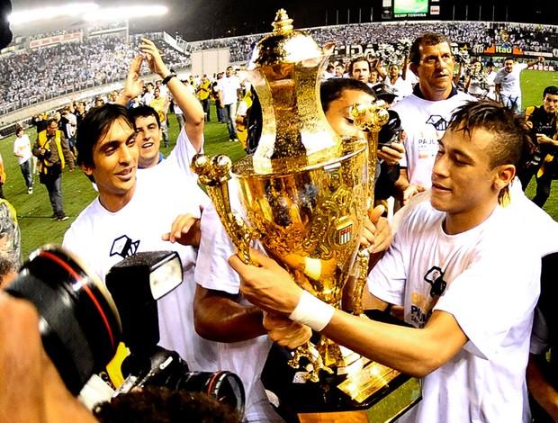 neymar santos x corinthians taça (Foto: Marcos Ribolli/Globoesporte.com)