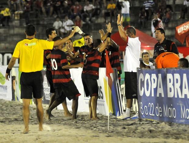 Flamengo Copa do Brasil de Futebol de Areia (Foto: Divulgação)