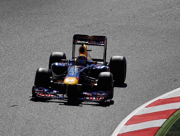 mark webber RBR GP da Espanha (Foto: agência AP)