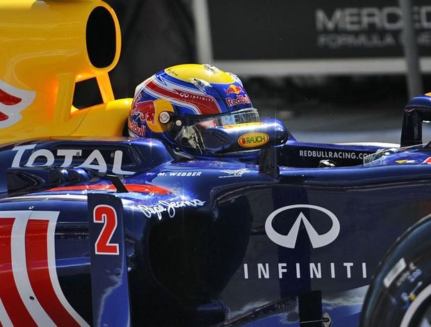 Mark Webber GP da Espanha RBR (Foto: AFP)