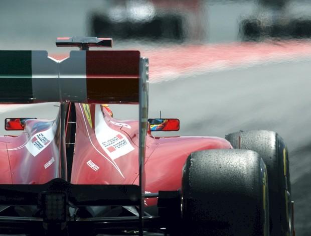 Asa traseira proibida da Ferrari GP da Espanha (Foto: Getty Images)