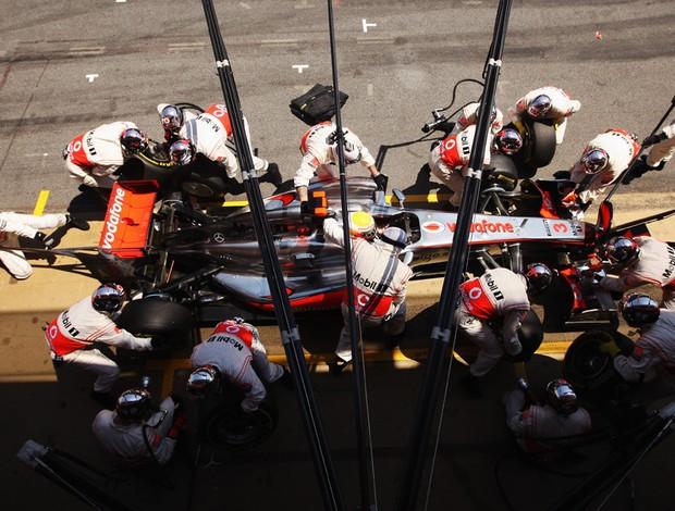 Hamilton GP Espanha (Foto: Getty Images)