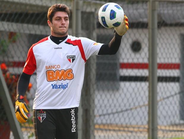 Denis goleiro São Paulo (Foto: Luiz Pires/VIPCOMM)