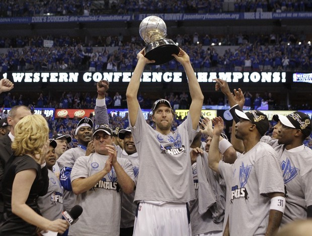 Dallas Mavericks, campeão do Oeste 2011 (Foto: AP)