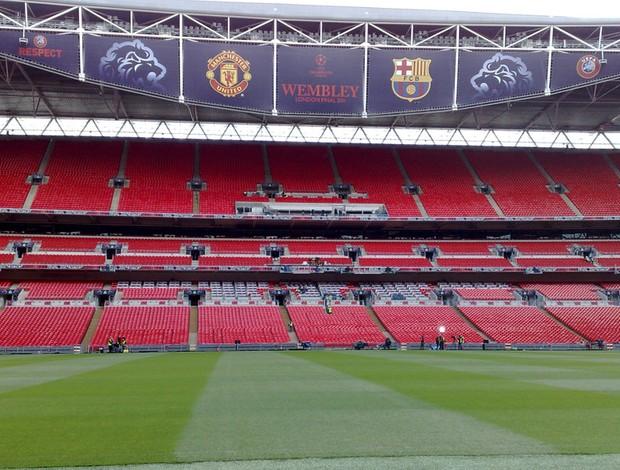 estádio wembley final liga dos campeões (Foto: Rodrigo Sirico/Globoesporte.com)