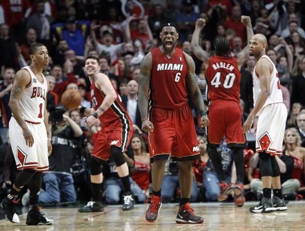 Miami Heat, finalista da NBA 2011 (Foto: AP)