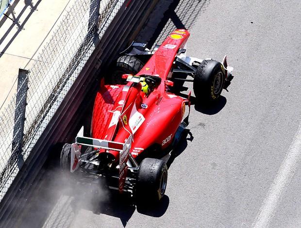 Massa abandona GP de Mônaco (Foto: AP)