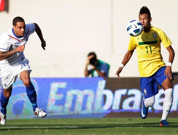 brasil x holanda neymar (Foto: Agência Reuters)