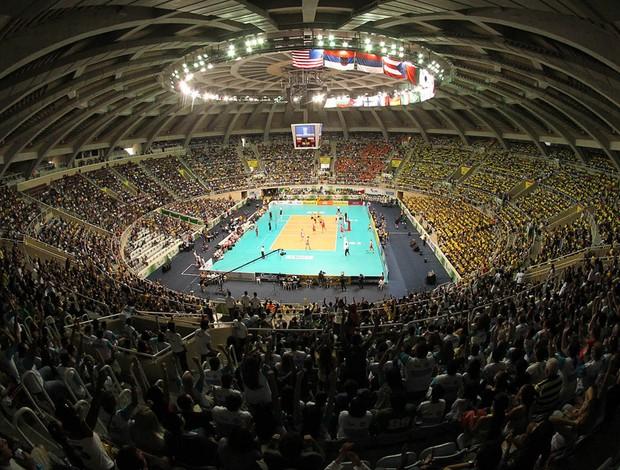 vôlei Maracanazinho Brasil x Polônia (Foto: Maurício Val / VIPCOMM)