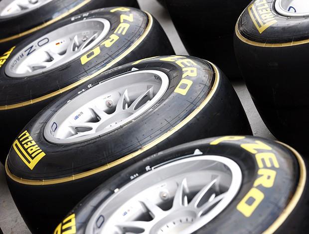 fórmula 1 pneus pirelli (Foto: Divulgação)