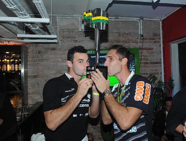 alessandro fernando prass festa título copa do brasil vasco (Foto: Gustavo Rotstein / Globoesporte.com)