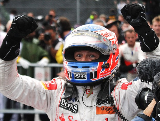 jenson button mclaren gp do canadá (Foto: agência Getty Images)