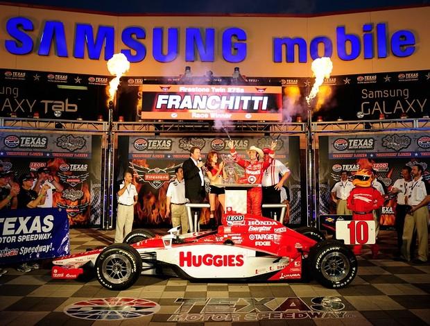 Dario Franchitti Texas Fórmula Indy (Foto: Getty Images)