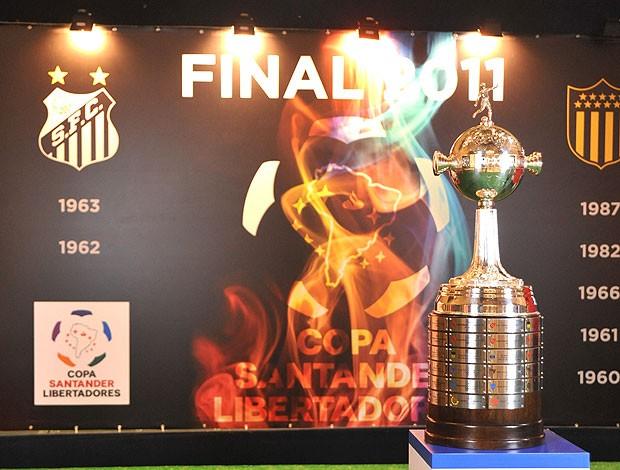 embarque da taça da Libertadores  (Foto: Divulgação)