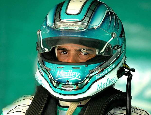 Stock Car: Marcos Gomes e seu olhar pelo capacete (Foto: Miguel Costa Jr. / Stock Car)