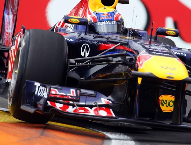Mark Webber GP Europa treino livre (Foto: agência Getty Images)