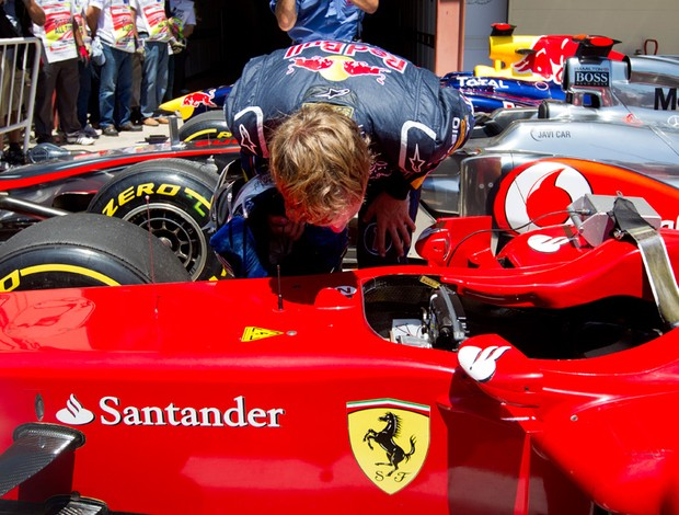 Sebastian Vettel fórmula 1 F-1 Valencia (Foto: AP)