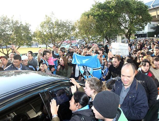 saída renato gaúcho grêmio (Foto: Wesley Santos/Pressdigital)