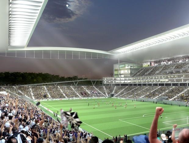 Estádio do Corinthians (Foto: Divulgação / Corinthians)