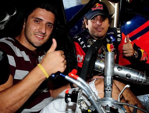 Stcok Car: Marquinho Fluminense Cacá Bueno (Foto: Duda Bairros / Stock Car)