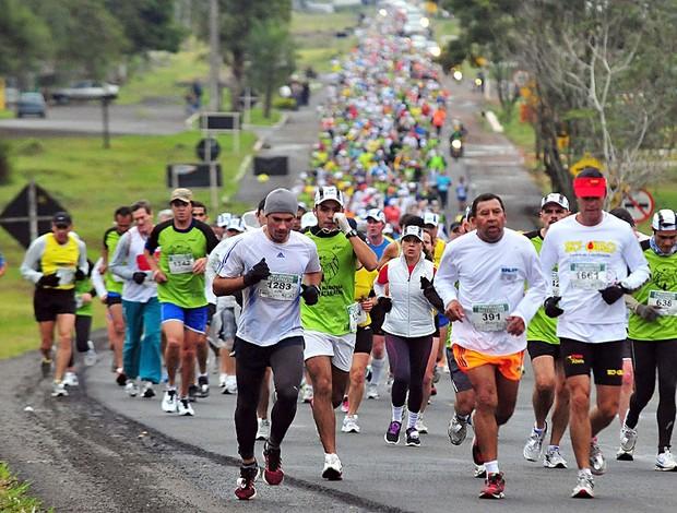 Meia Maratona Cataratas do iguaçu corrida de rua (Foto: Marcos Labanca / Divulgação)