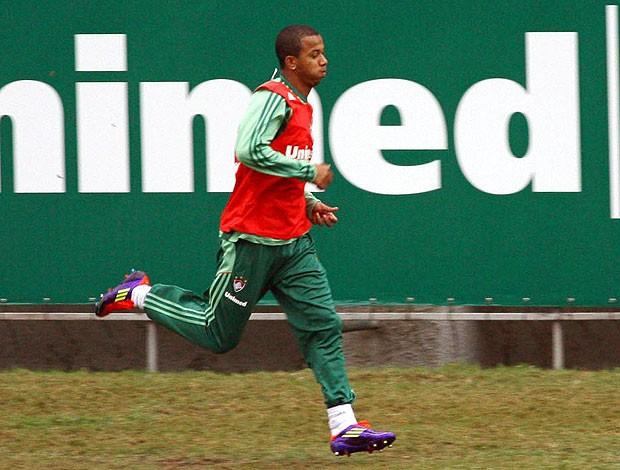 Mariano no treino do Fluminense (Foto: Agência Photocâmera)