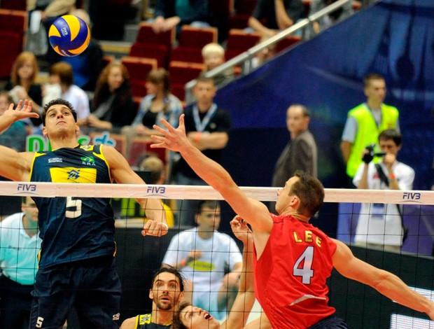 Vôlei sidão brasil eua liga mundial (Foto: divulgação / FIVB)