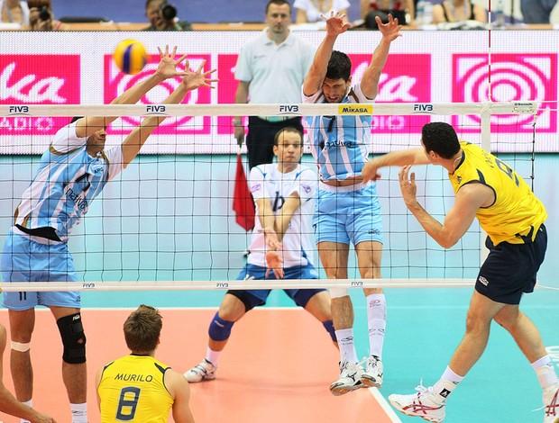 vôlei theo brasil argentina  liga mundial (Foto: divulgação / FIVB)