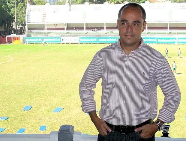 Marcelo Teixeira, gerente de futebol do Fluminense (Foto: Edgard Maciel de Sá / GLOBOESPORTE.COM)