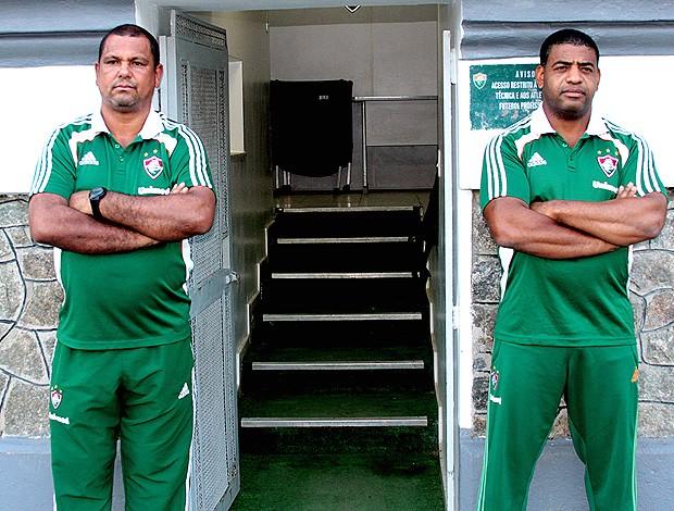 Seguranças Fluminense (Foto: Ralff Santos/FluminenseF.C.)