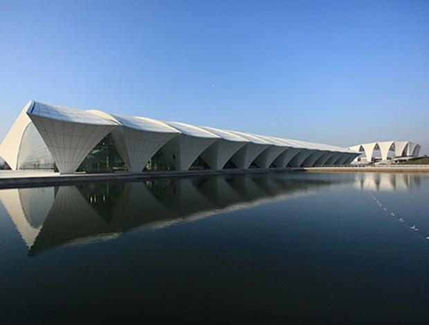 complexo de natação parque aquático NATATORUIM china shangai (Foto: Fina.org)