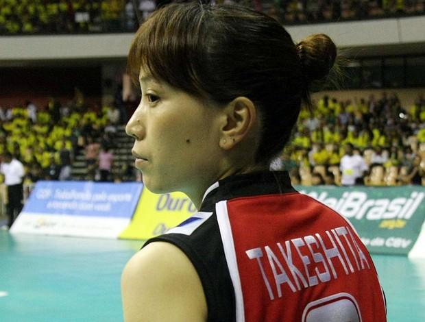 Yoshie Takeshita Japão Copa Internacional de Vôlei Feminino (Foto: Alexandre Arruda/CBV)