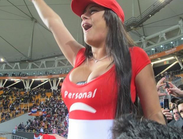 Larissa Riquelme Paraguai (Foto: Julyana Travaglia / Globoesporte.com)