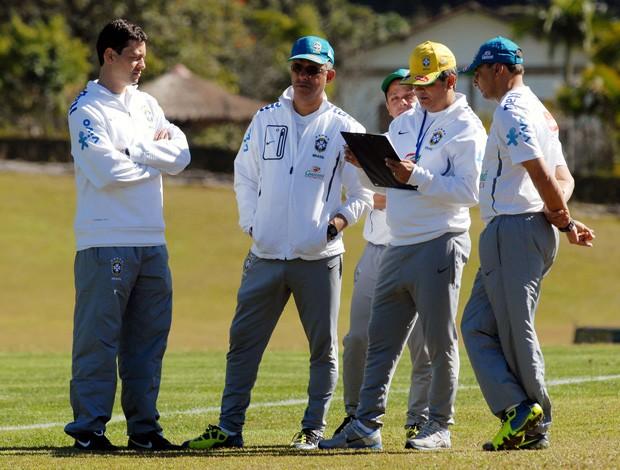 Comissão técnica seleção brasileira sub-20 (Foto: Alexandre Durão/Globoesporte.com)