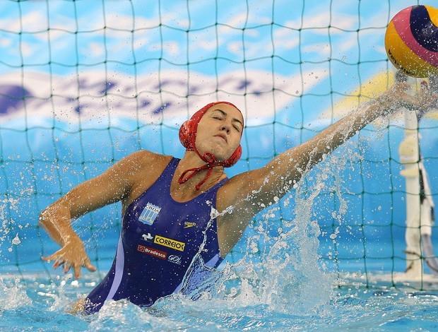 Cecilia Canetti, seleção brasileira polo aquático (Foto: Agif / Divulgação)