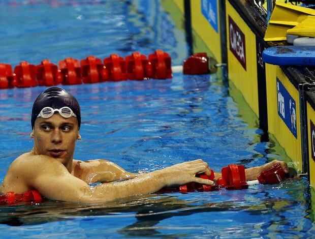 cesar cielo natação treino (Foto: EFE)