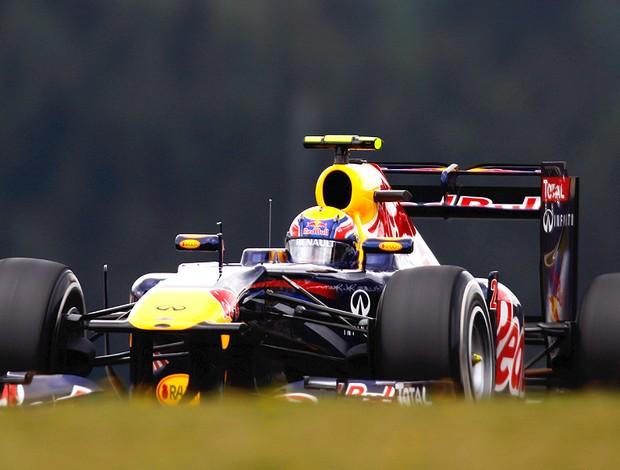 Mark Webber no treino do GP da Alemanha (Foto: Getty Images)