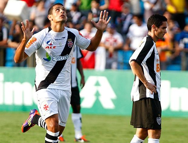 diego souza vasco gol atlético-mg (Foto: Gustavo Andrade / Agência Estado)