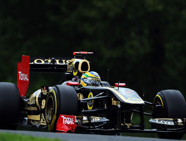 bruno senna lotus gp da hungria (Foto: Agência Getty Images)