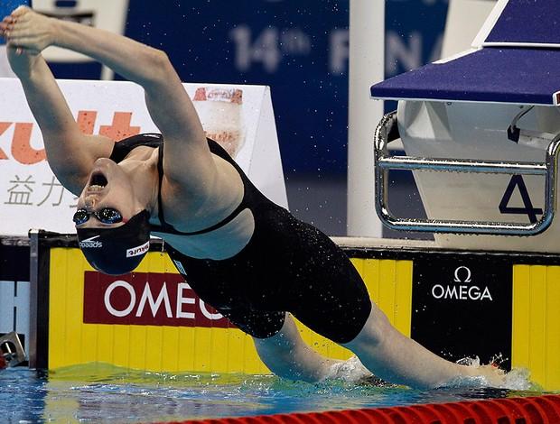 melissa franklin mundial de natação  (Foto: agência AP)