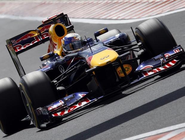 Sebastian Vettel, treino GP da Hungria (Foto: Reuters)