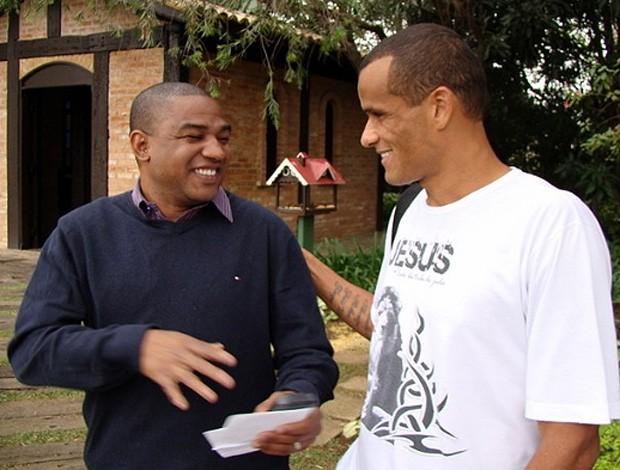 César Sampaio rivaldo são paulo (Foto: Divulgação/ Site oficial São Paulo)