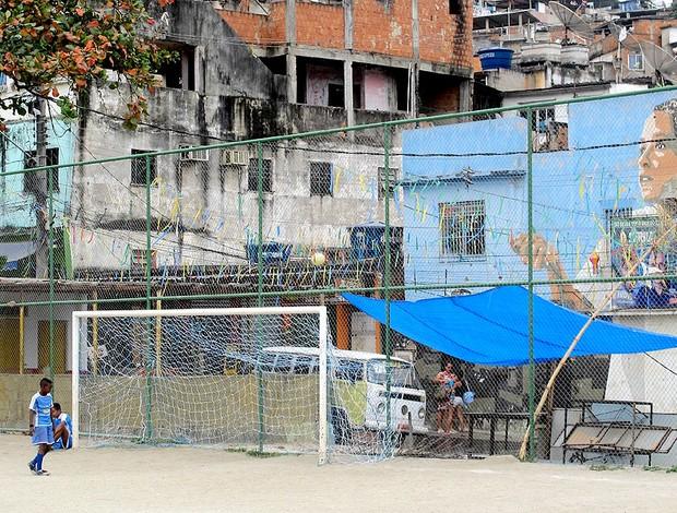 projeto imperadores da vila  (Foto: Janir Júnior / Globoesporte.com)