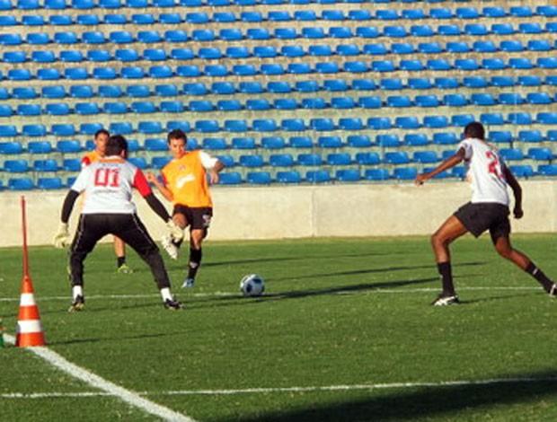 dagoberto são paulo treino (Foto: Marcelo Prado/Globoesporte.com)