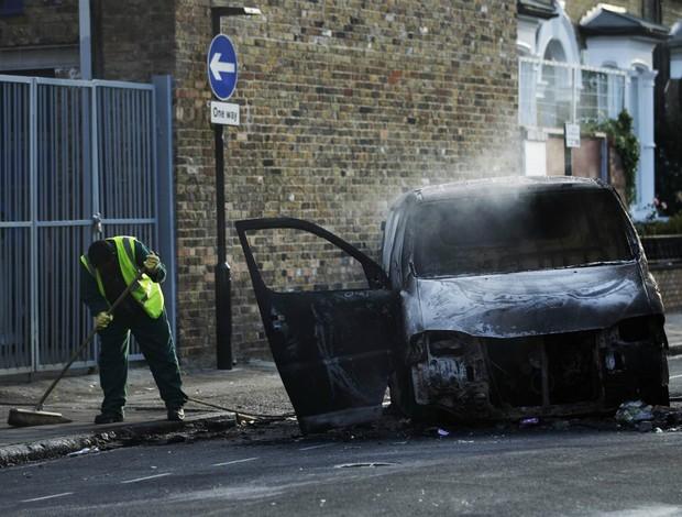 Olimpíadas Londres 2012 violência (Foto: Reuters)