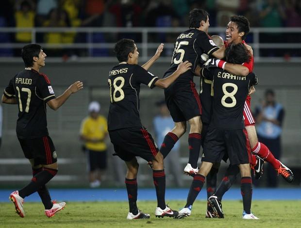 México 1 x 1 Camarões, Mundial Sub-20 (Foto: EFE)
