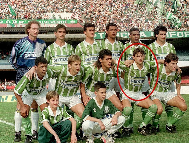 jean carlo palmeiras 1992 (Foto: agência Gazeta Press)