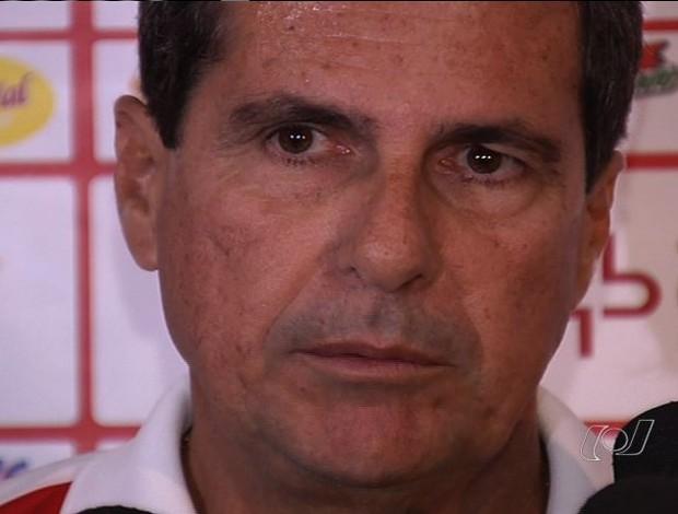Artur Neto foi apresentado nesta sexta (Foto: Reprodução/TV Anhanguera)