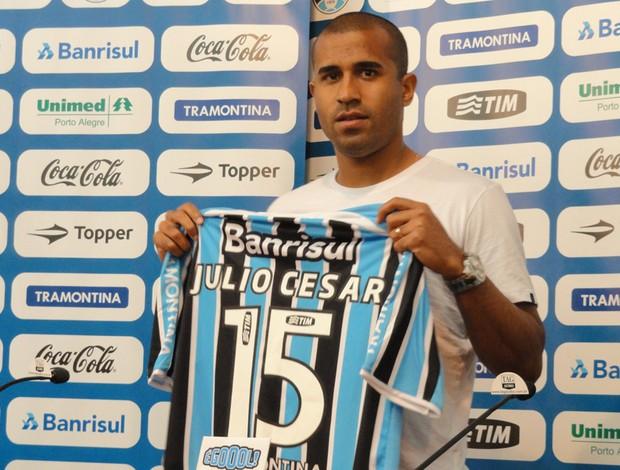 Julio Cesar, lateral do Grêmio (Foto: Eduardo Cecconi/Globoesporte.com)
